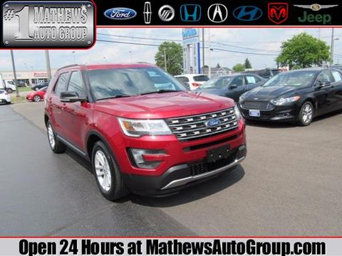 2016 Ford Explorer for sale in Marion, OH