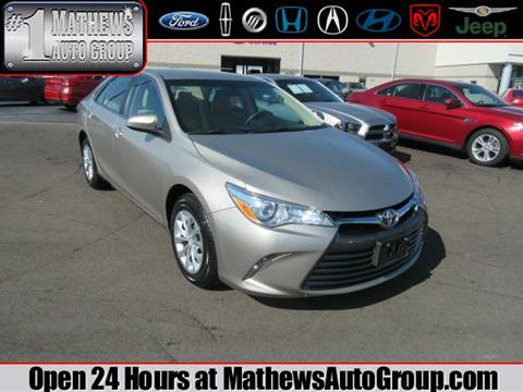 2016 Toyota Camry for sale in Marion, OH