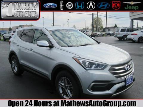 2017 Hyundai Santa Fe Sport for sale in Marion OH