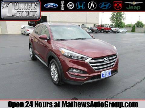 2017 Hyundai Tucson for sale in Marion, OH