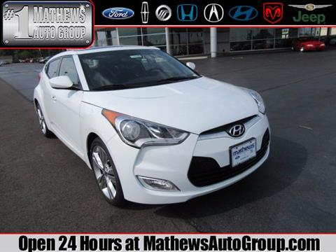 2017 Hyundai Veloster for sale in Marion, OH