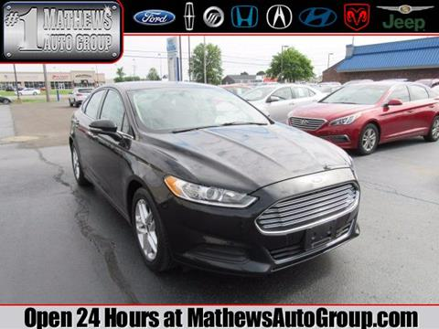 2014 Ford Fusion for sale in Marion, OH