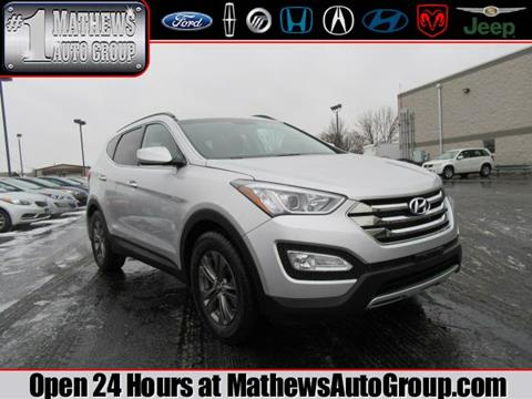 2014 Hyundai Santa Fe Sport for sale in Marion, OH