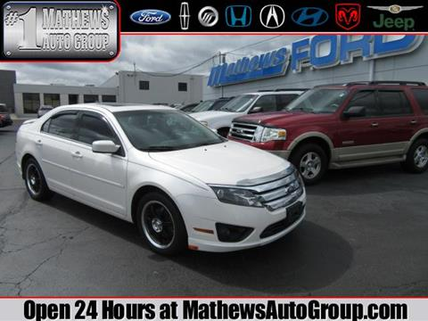 2010 Ford Fusion for sale in Marion, OH
