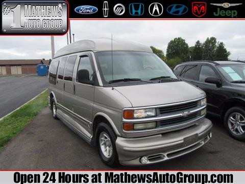 2002 Chevrolet Express Passenger for sale in Marion OH