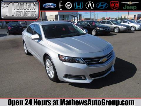 2016 Chevrolet Impala for sale in Marion, OH