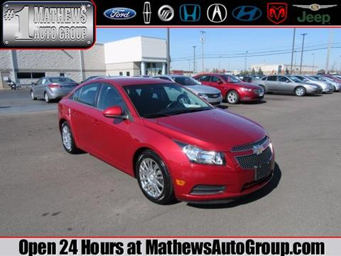 2011 Chevrolet Cruze for sale in Marion OH