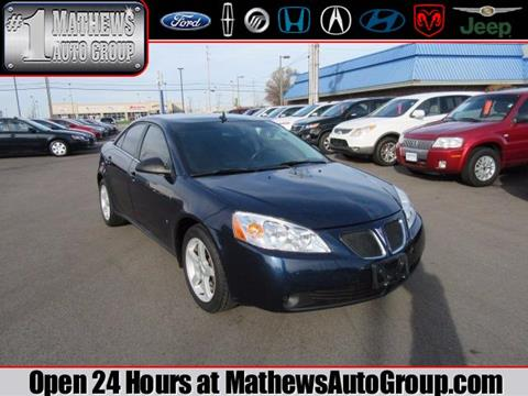 2009 Pontiac G6 for sale in Marion, OH