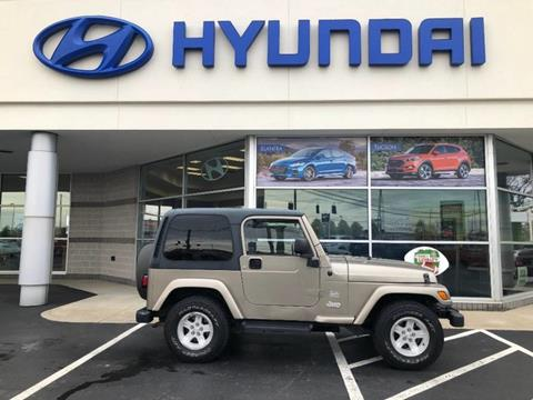 2004 Jeep Wrangler for sale in Marion, OH