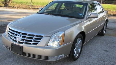 2006 Cadillac DTS for sale in Houston TX