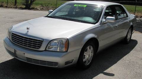 2003 Cadillac DeVille for sale in Houston TX