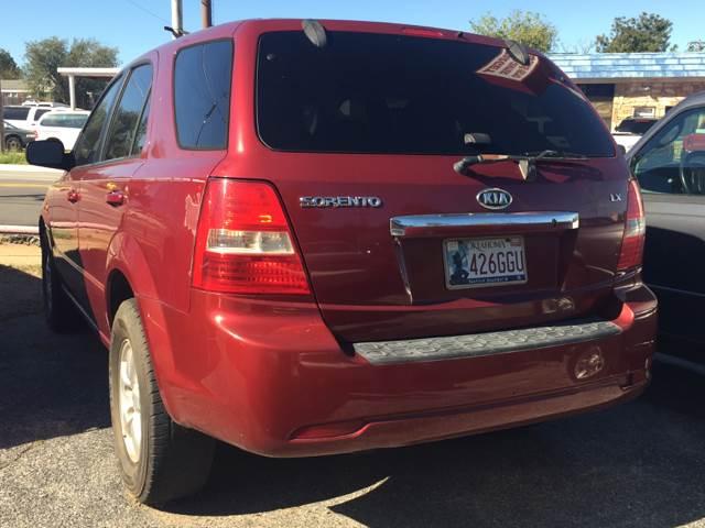 2007 Kia Sorento For Sale At Target Auto Center LLC In Oklahoma City OK