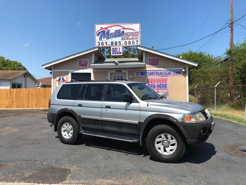 2000 Mitsubishi Montero Sport For Sale At Mattu0027s Auto Sales In Corpus  Christi TX