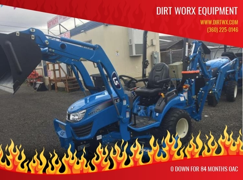 2020 LS Tractor a-   MT125-24.7HP for sale at DirtWorx Equipment - LS Tractors in Woodland WA