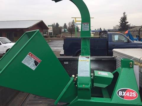 2017 Wallenstein BX 42S Chipper for sale at DirtWorx Equipment in Woodland WA