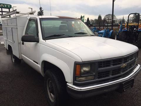 1995 Chevrolet C/K 3500 Series for sale at DirtWorx Equipment - Trucks in Woodland WA