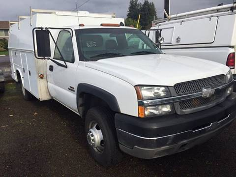 2003 Chevrolet C/K 3500 Series for sale at DirtWorx Equipment - Trucks in Woodland WA
