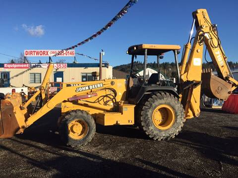 2003 John Deere 710D for sale at DirtWorx Equipment - Used Equipment in Woodland WA