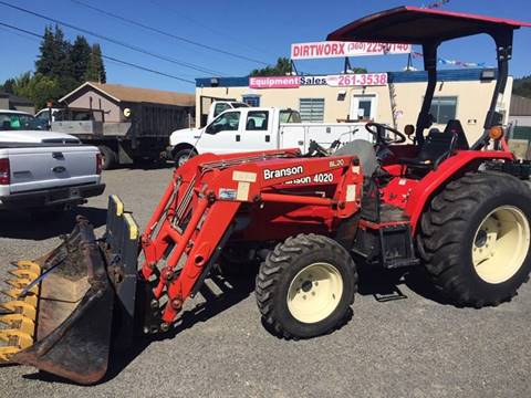 2011 Branson 4020 for sale at DirtWorx Equipment - Used Equipment in Woodland WA