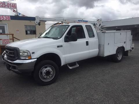 2003 Ford F-550 for sale at DirtWorx Equipment - Trucks in Woodland WA