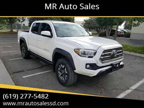 Toyota Of San Diego >> 2017 Toyota Tacoma For Sale In San Diego Ca