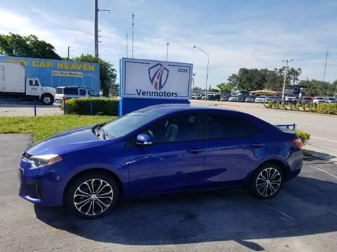 2015 Toyota Corolla for sale in West Park, FL
