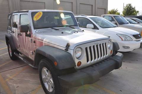 2008 Jeep Wrangler Unlimited for sale in Austin, TX