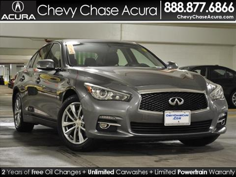 2015 Infiniti Q50 for sale in Bethesda MD