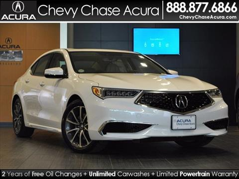 2018 Acura TLX for sale in Bethesda MD