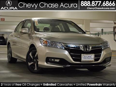 2014 Honda Accord Plug-In for sale in Bethesda MD