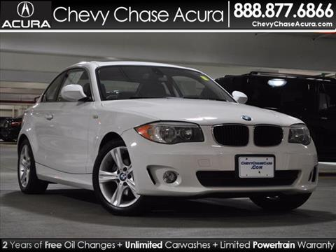 2012 BMW 1 Series for sale in Bethesda, MD