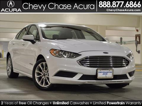 2017 Ford Fusion Hybrid for sale in Bethesda, MD