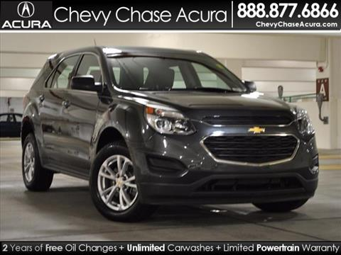 2017 Chevrolet Equinox for sale in Bethesda MD
