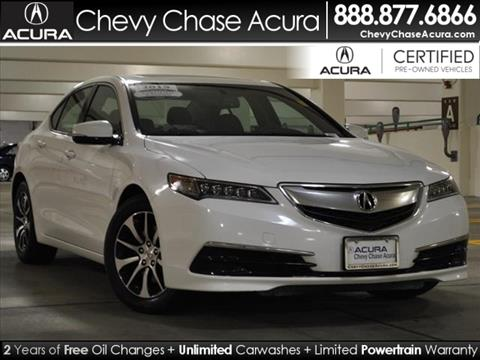 2015 Acura TLX for sale in Bethesda, MD