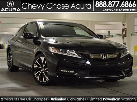 2016 Honda Accord for sale in Bethesda, MD