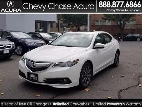 2015 Acura TLX for sale in Bethesda MD