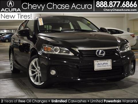 2013 Lexus CT 200h for sale in Bethesda MD