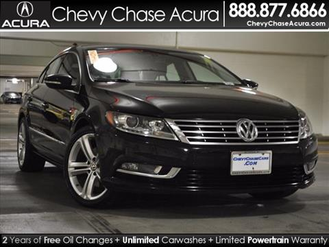 2013 Volkswagen CC for sale in Bethesda, MD