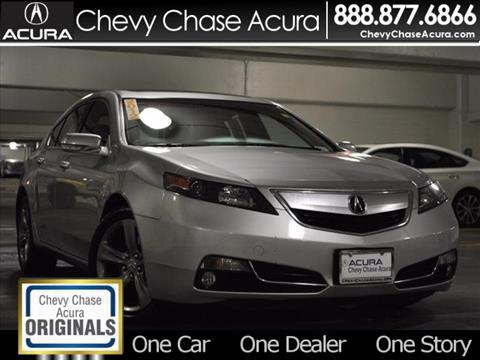 2012 Acura TL for sale in Bethesda, MD