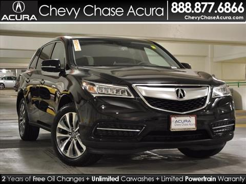 2015 Acura MDX for sale in Bethesda MD