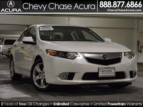 2013 Acura TSX for sale in Bethesda MD