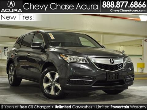 2015 Acura MDX for sale in Bethesda, MD