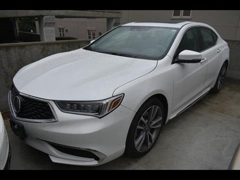 2019 Acura TLX for sale in Bethesda, MD