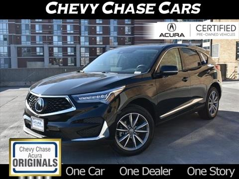 2020 Acura RDX for sale in Bethesda, MD