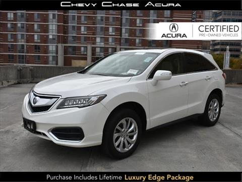 2017 Acura RDX for sale in Bethesda, MD