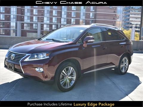 2015 Lexus RX 350 for sale in Bethesda, MD