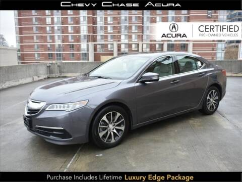 2017 Acura TLX for sale in Bethesda, MD