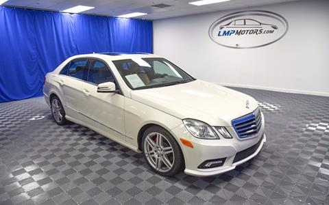 2011 Mercedes-Benz E-Class for sale in Plantation, FL