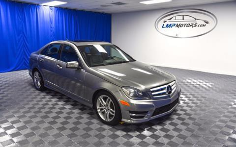 2013 Mercedes-Benz C-Class for sale in Plantation, FL