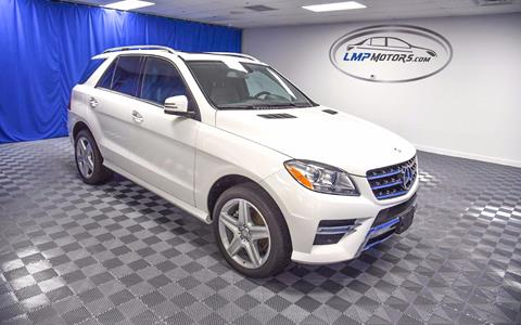 2015 Mercedes-Benz M-Class for sale in Plantation, FL